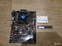 Intel G3930+msi z270 a-pro+SSD 120GB+DDR4 4GB — Товары для компьютера в Санкт-Петербурге