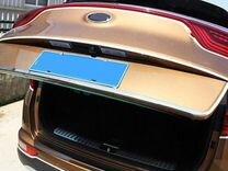 Хром накладка на низ крышки багажник Kia Sportage