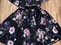 Платье шелковое, новое