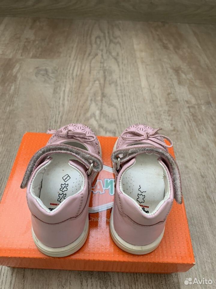 Туфли для девочки 21р  89124370677 купить 4