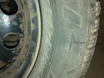 Продаю резину с дисками. pirelli winter 175/70 R13