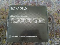 Блок питания evga supernova 1600 T2 1600W
