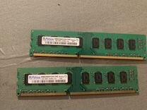 Оперативная память DDR3 1333Mhz 2gb — Товары для компьютера в Новосибирске