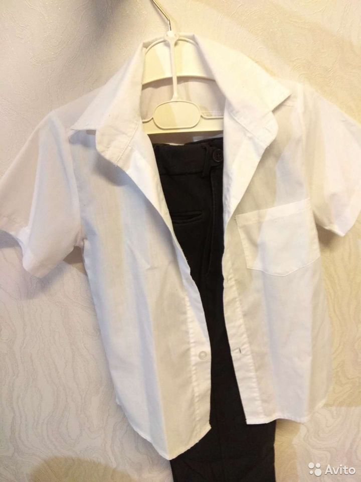 Рубашка с короткими рукавами  89277040751 купить 2
