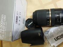 Canon : Tamron 70-300/4-5.6 USD VC для canon