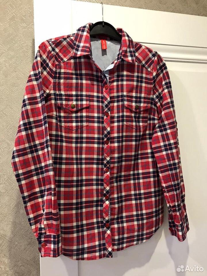 Рубашка в клетку  89616621571 купить 1