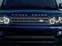 Комплект передних фар для range rover sport 2009+