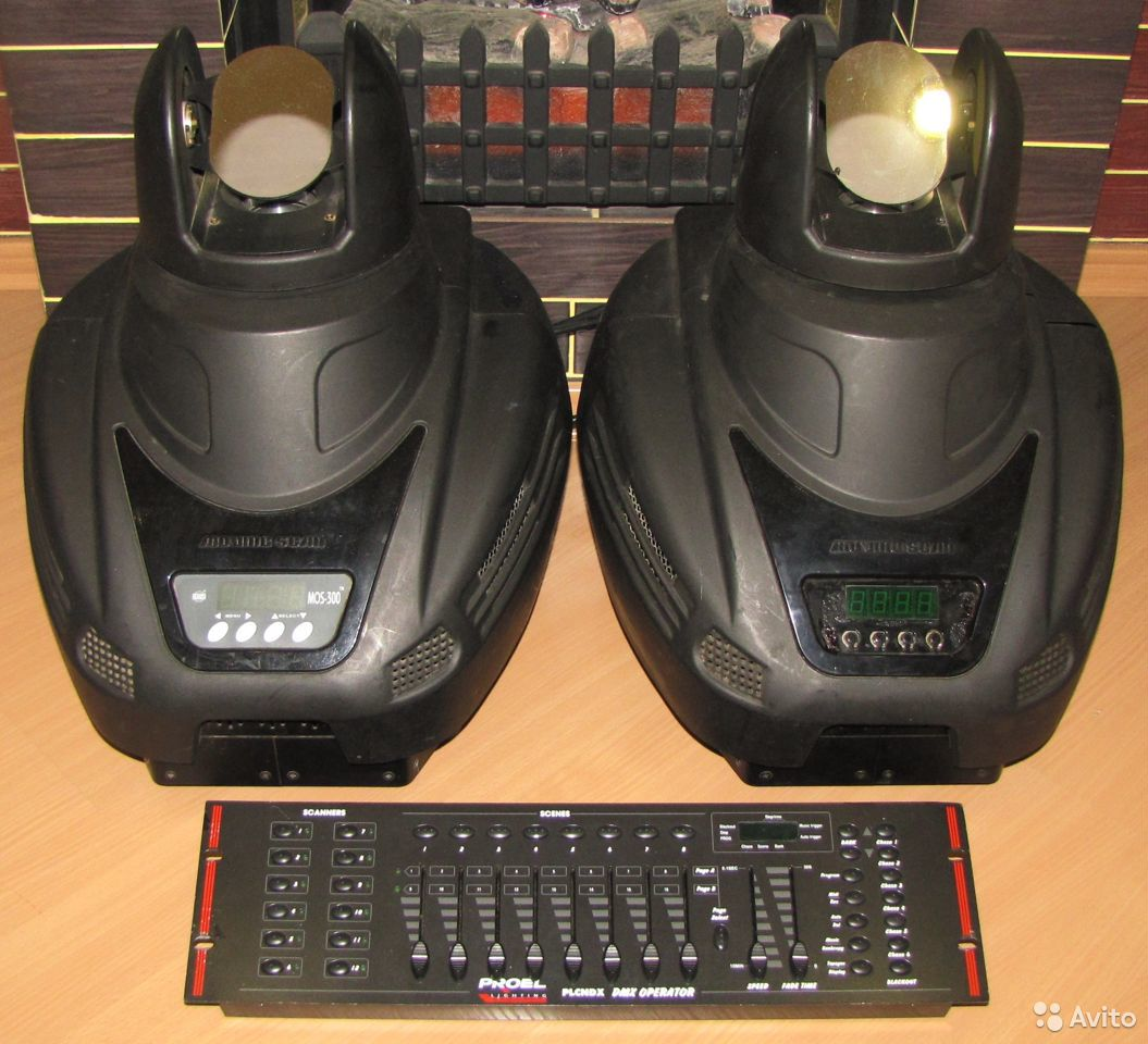 Pro светомузыка головы MOS300 2шт пульт DMX Proel  89128899109 купить 10