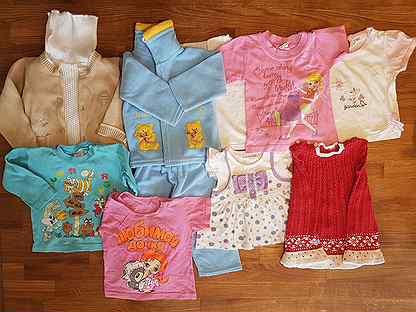 Детская одежда пакетом (68-74 р-р)